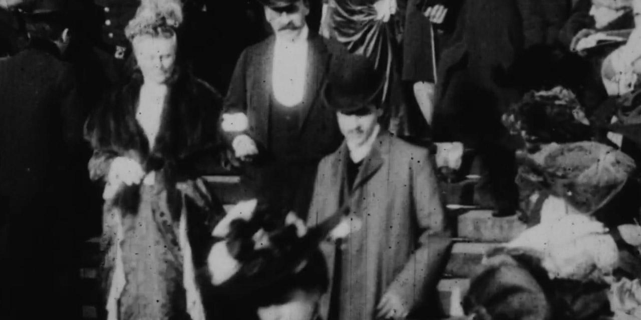 Abis Marcel-Proust-pourrait-apparaitre-sur-un-film-de-mariage-de-1904